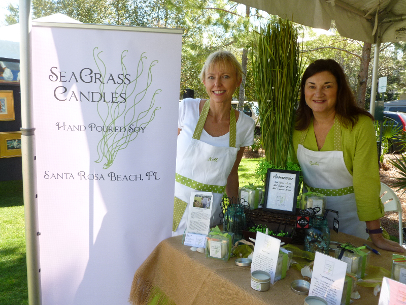 Handcrafted candles by Nell & Gabe