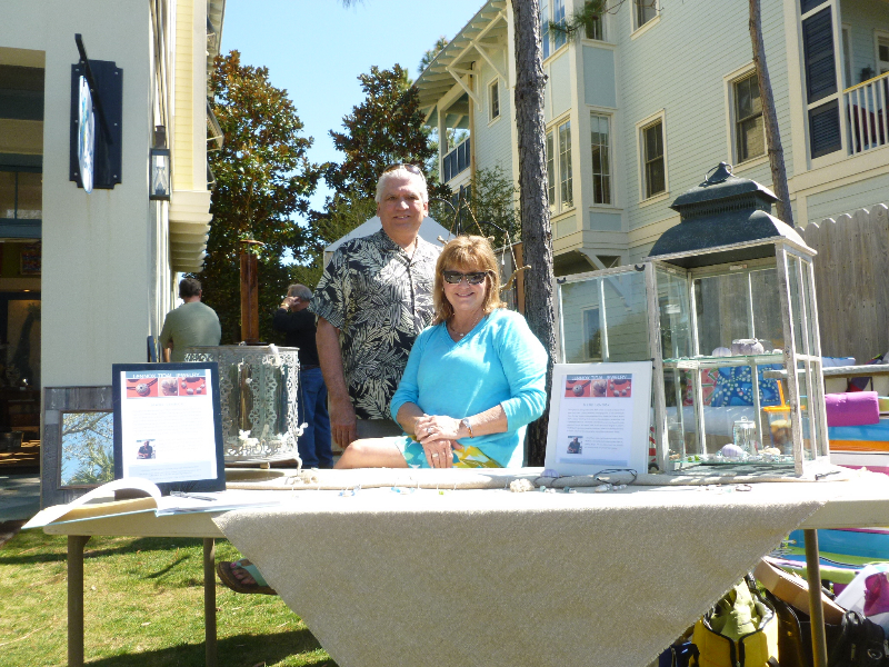 Lennox Tidal Jewelry; Mark and his wife, Denise