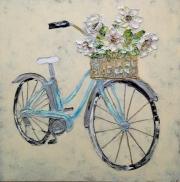 Eddie Powell Blue Bike with Flowers.jpg