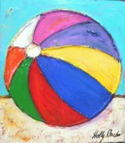 Holly beach ball