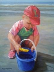 Little Boy in Red