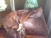 Lisa W canvas handbag copper
