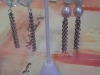 Lisa W vintage earrings pearl 2