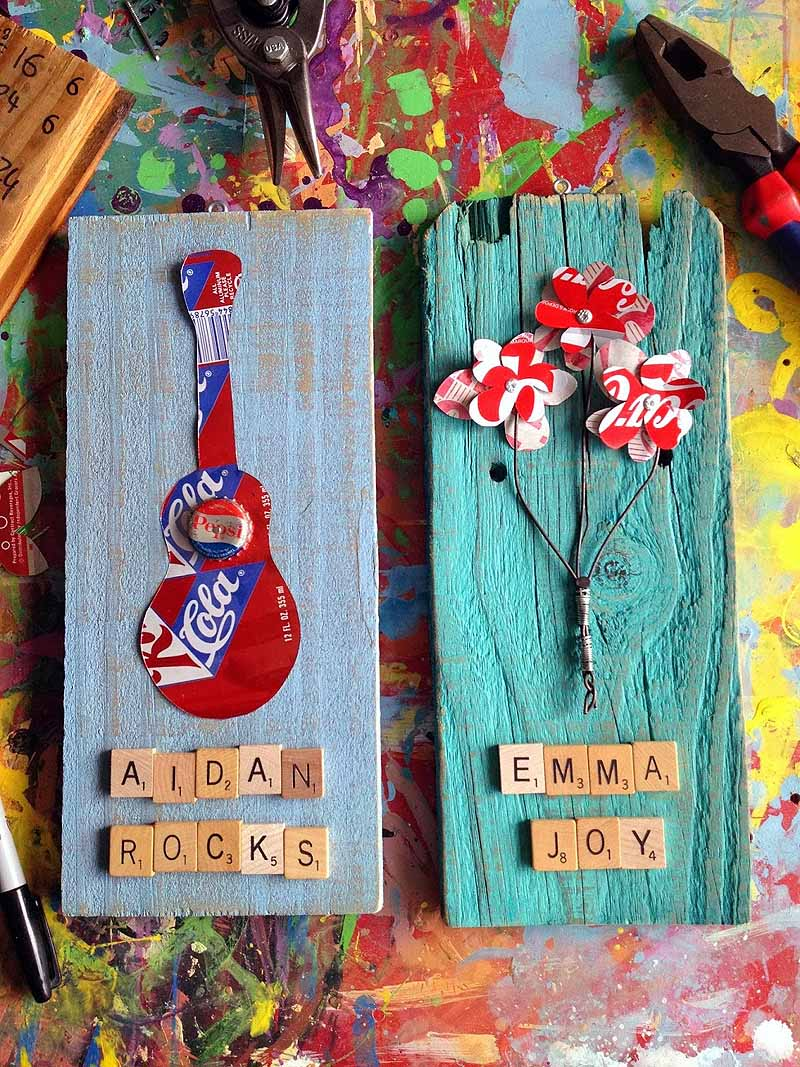 Upcycled Art - Aidan-Emma Art