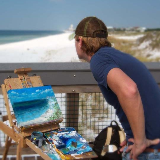 Aaron Sutton – South Walton's Colorblind Artist