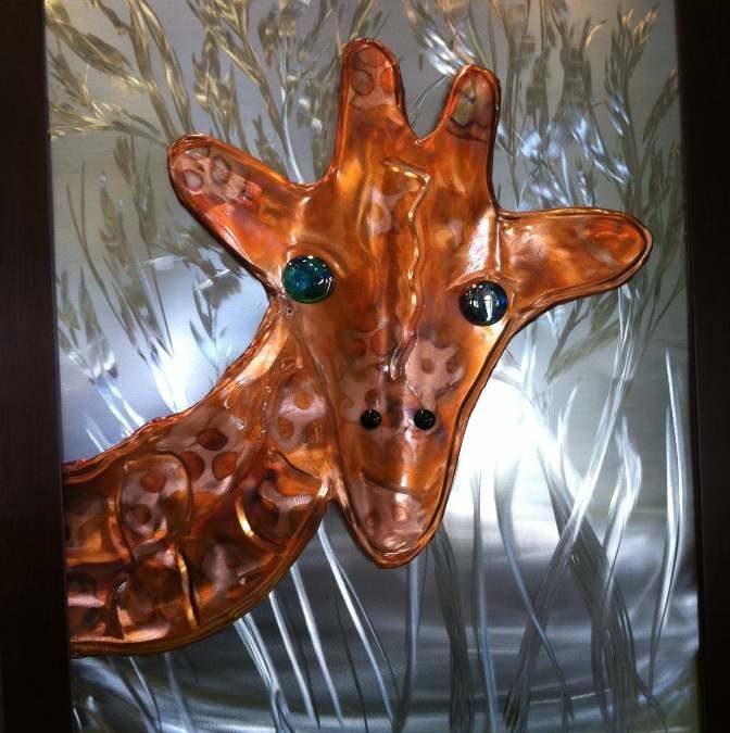 Copper Giraffe by David Williams