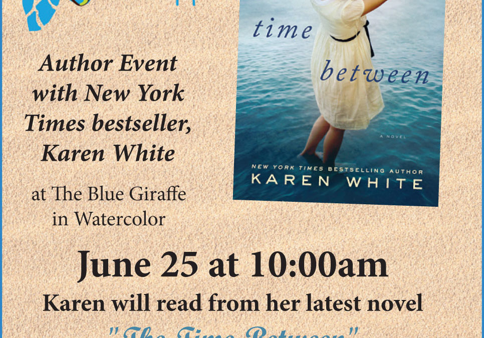 Karen White Author Event – 'Grit Lit' in The Walton Sun