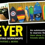 MEYER Board Painting Workshop w/ Artist Alan Moore