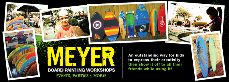 MEYER Board Painting Workshop w/ Artist Alan Moore
