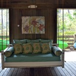 Coastal Porch Swing Bed
