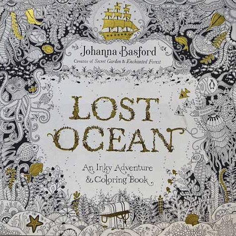Coloring Book - Lost Ocean - Blue Giraffe 30a